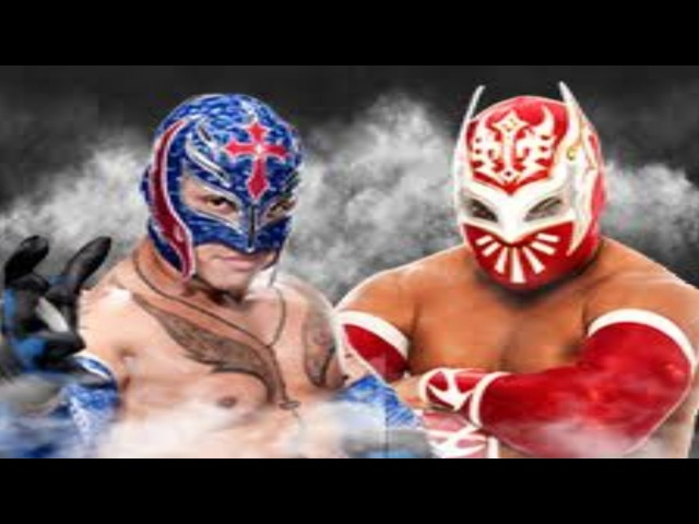 Sin Cara and Rey Mysterio vs. Cody Rhodes and Tensai - WWE Raw: September 03, 2012