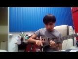 NieR: Automata - A Beautiful Song / Amusement Park boss theme (Guitar Cover)