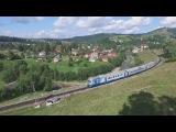 Дизель-поезд Д-1 Коломыя-Рахов - Diesel train D1