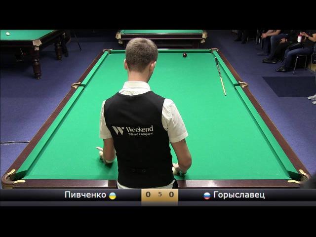 Savvidi2016 Пивченко Артур UKR - RUS Горыславец Сергей