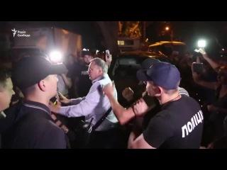 Столкновения в Одессе во время выступления Ирины Билык