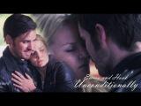 Emma and Hook  Unconditionally