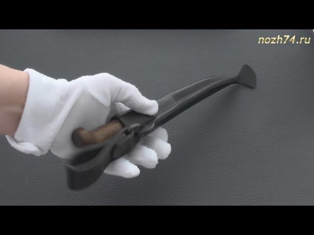 Нож Финка-Лаппи (Орех, 110Х18М-ШД) - nozh74.ru