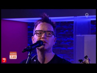 Blink-182 - Bored To Death | LIVE Morgenmagazin 2016 November 15