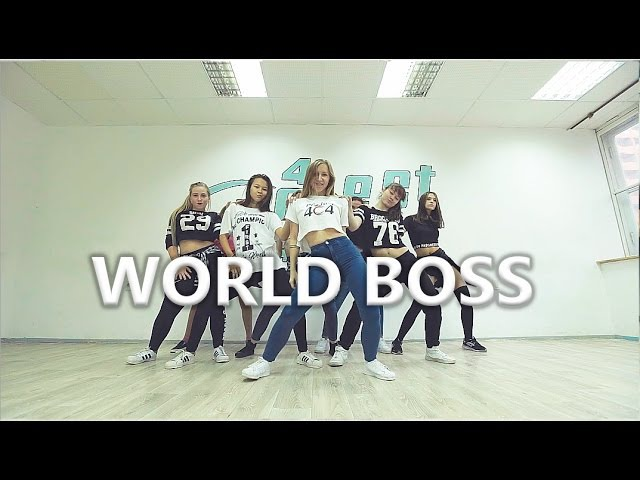 WORLD BOSS - Twerk Team. Choreo by Anna Volkova