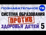 Система образования против здоровья детей. Часть 5 (Познавательное ТВ, Владимир  ...
