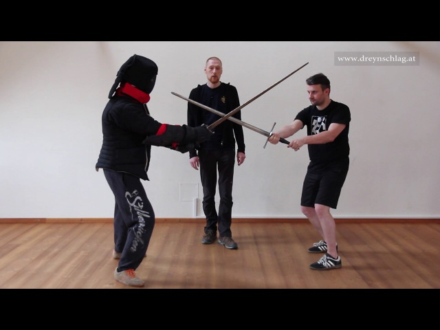 Learn Sword Fighting 15 - Schielhau against Oberhau