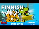 Finnish for kids DVD set - Finnish learning lessons for children - Finland, Suomi, Suomea