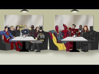 Как следовало закончить фильм Первый Мститель: Противостояние (Русская озвучка)