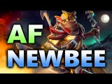 Newbee vs Ad Finem - CRAZY! Boston MAJOR Dota 2