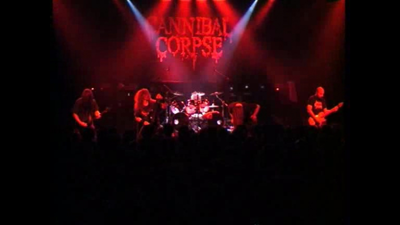 Cannibal Corpse - Hammer Smashed Laiterie (Strassbourg 08.04.2004)