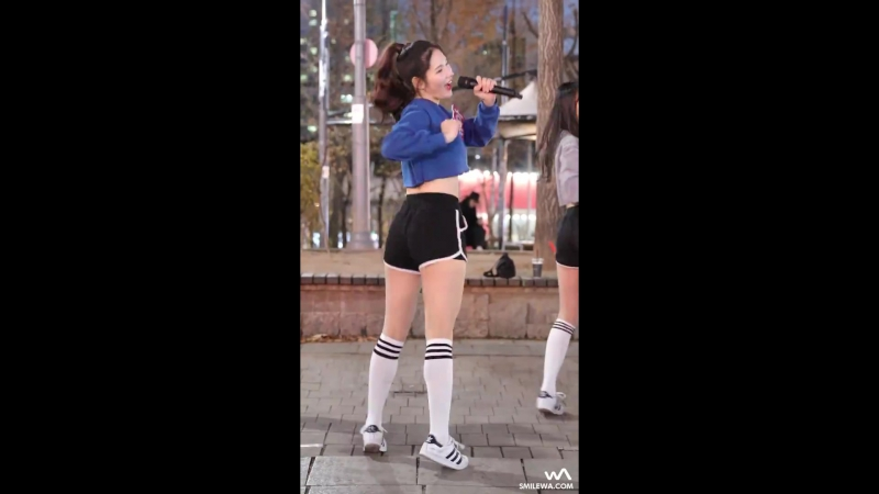 [fancam] Ryua- Somehow (DIA) @ Hongdae Busking 161201 -wA-