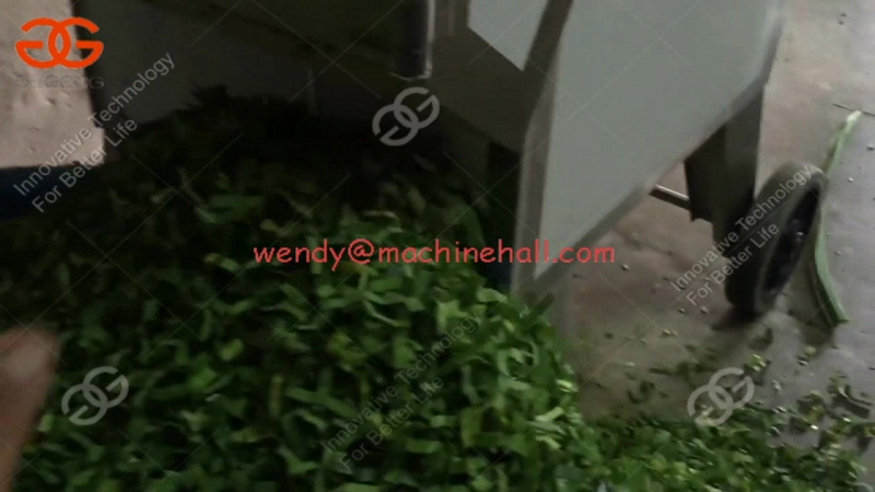 Vegetable Cutting Machine for Pandan