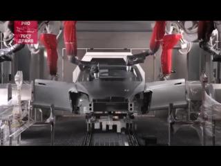 Как делают авто Tesla