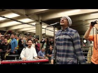 In The End - Linkin Park LIVE in METRO ► ЛИНКИН ПАРК ВЫСТУПАЮТ В МЕТРО