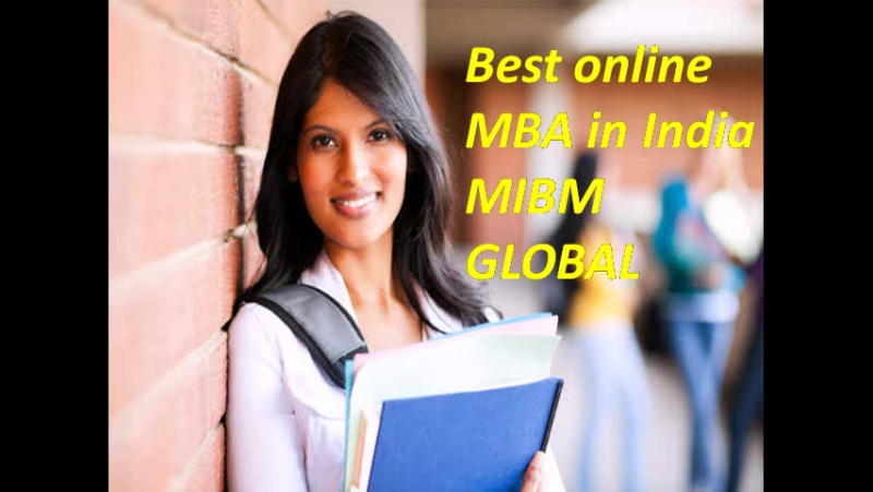 Online MBA in India is the best opportunity.