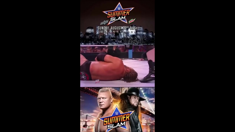 WWE SummerSlam 2012 No Disqualification Match Triple H vs Brock Lesnar