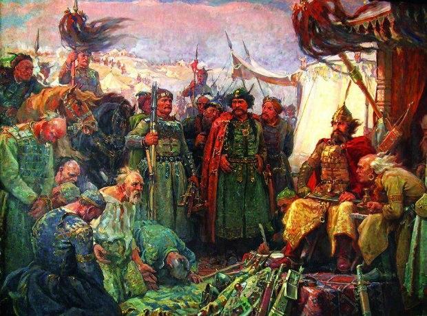Хан Крум и пленените авари Гюдженов
