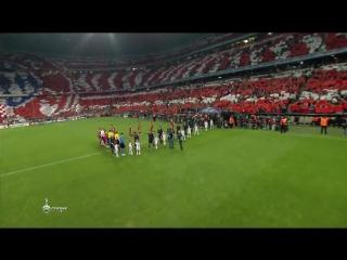 Лучший перфоманс в истории Лиги Чемпионов.Бавария мюнхен.фанаты