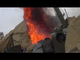Обнародованы кадры с места обстрела военного госпиталя в Алеппо
