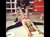 Марина Гвазава в Instagram «Потягушечки 🔥#stimul68 #fit_tmb