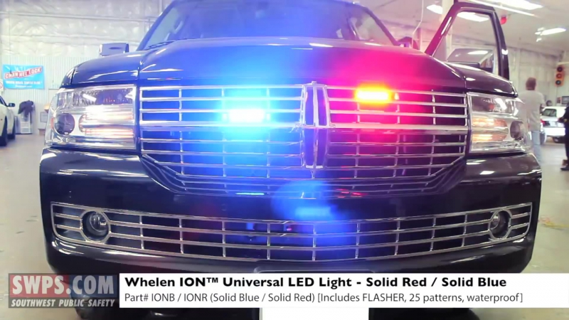 2013 Lincoln Navigator outfitted with LEDs - Undercover - SWPS - SA13NAVIGATOR