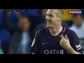 Малага 1-0 Барселона  Рамирес