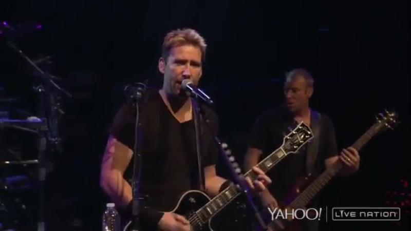Nickelback - Too Bad ( Live Nation )