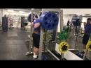 260 кг подъем на носки стоя на 20 повторений!