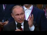 Путин׃ живая клетка не защищена в дальнем космосе [к вопросу были ли американцы на Луне]