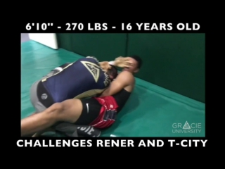 610 - 270lbs Challenges Rener AND T-city!