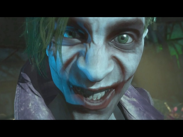 INJUSTICE 2 The Joker Returns to Confront Harley Quinn (Scarecrow Fear Toxin)