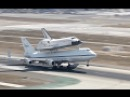 Shuttle Carrier Aircraft - Space Shuttle Endeavour Landing at LAX - worth seeing