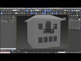 Ультра быстрый 3D-моделинг дома в 3Ds Max!