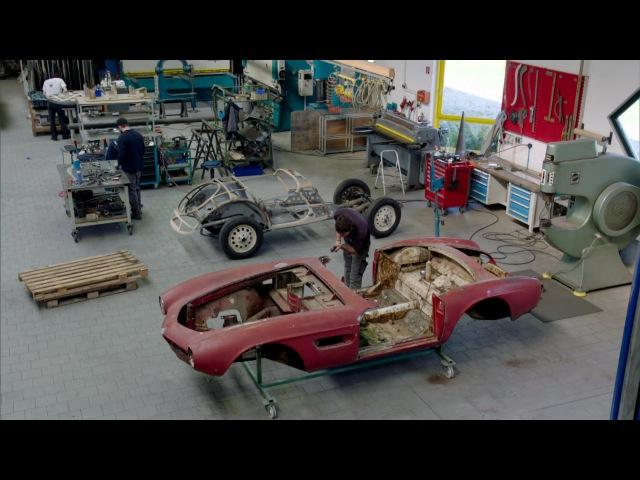 The Restoration of Elvis BMW 507