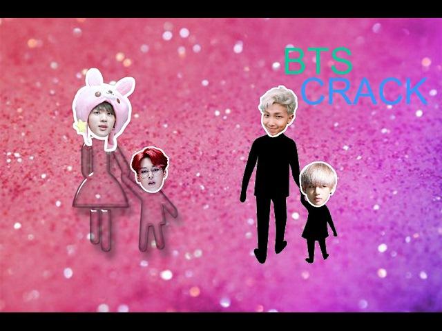 BTS Crack - Mommy Jin Daddy RapMon