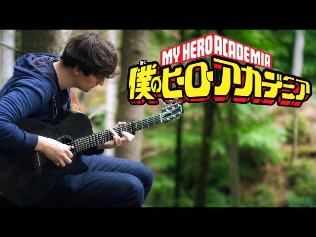 Boku no Hero Academia Season 2 Opening 2 - Sora ni Utaeba by Amazarashi - Fingerstyle Guitar Cover
