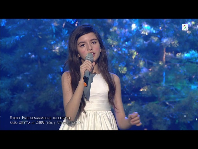 Angelina Jordan White Christmas 18.12.2016