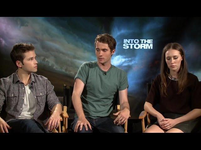 Into the Storm: Junket Interview - Alycia Debnam-Carey, Max Deacon Nathan Kress
