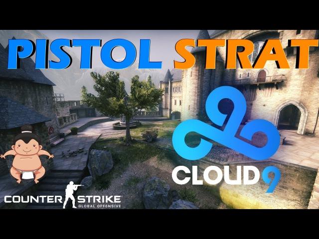 CS:GO - Cloud9 Pistol Tactic Cobblestone / Pistol Strat