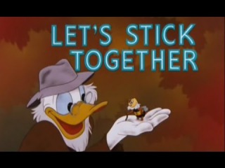 Let's Stick Together ☆ ᴴᴰ Donald Duck ☆ Chip and Dale ☆ Minie & Mickey Mouse ☆ Pluto ☆ Kid Toon