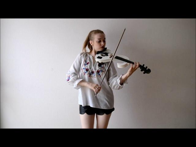 Alvaro Soler Sofia Violin cover Joanna Haltman