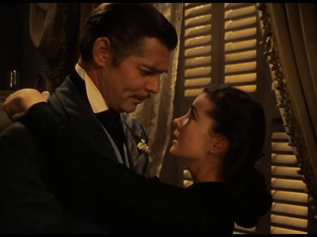 Ретт делает предложение Скарлетт выйти за него замуж