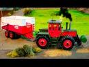 Traktor Animacje Pracowity Traktorek i inne Maszyna rolnicza Bajki Dla Dzieci Fairy tractors