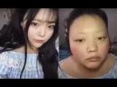 китаянка красится, Вот как нужно краситься) MAKEUP Chinese Version No Face Transplant
