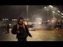 Protest anti corupție în Piața Victoriei Cu violență