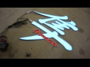 Светящаяся эмблема наклейка Хаябуса Hayabusa Suzuki