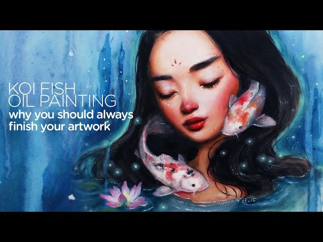 Why you should always finish your artwork    30 Days of Art Episode 6