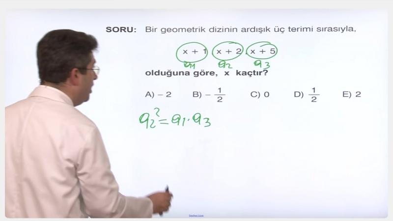 YGS-LYS MATEMATİK - Diziler - Seriler 4