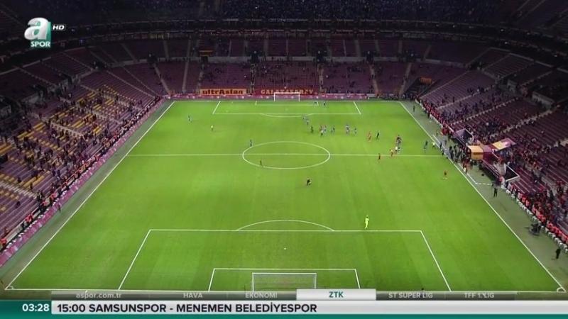 Galatasaray - Dersimspor ZTK 2.yarı